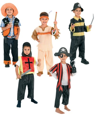 Dress Up for Boys Hero Adventure Trunk (Childrens Dress Up Clothes)