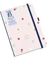 Busy B Contemporary 2019-20 Mid Year Busy Life Diary - with Dual schedules and Pockets