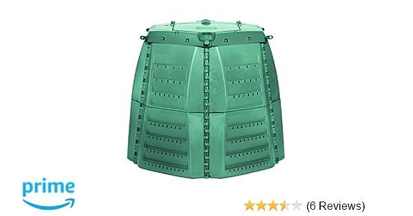 Amazon.com : Exaco 600531 Thermo-Star Composter, 1000-Liter/267-Gallon, Green : Garden & Outdoor