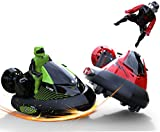 Remote Control Bumper Cars TG637 - Bump 'n Eject RC Bumper Cars By ThinkGizmos (Trademark Protected) RC Toy Game With 2 Radio Control Vehicles