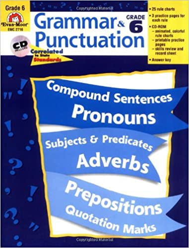 Amazon.com: Grammar and Punctuation, Grade 6 (9781557998507): Evan ...