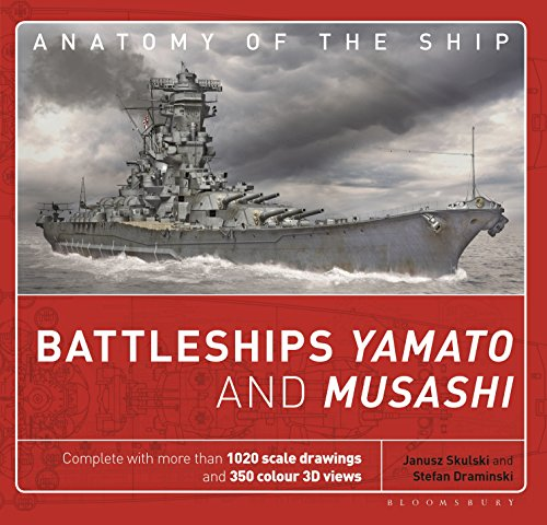 (Battleships Yamato and Musashi (Anatomy of The Ship))