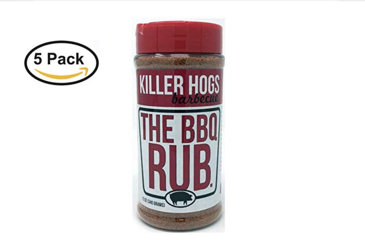 Killer Hogs The BBQ Rub 12 Ounce (12 oz (5 Pack))