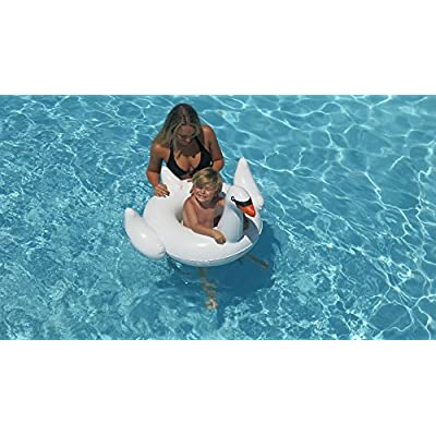 Swimline Baby Seat Swan Float: Toys & Games