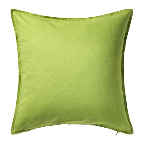 Amazon.com: IKEA Gurli Solid Color Verde Claro Throw ...