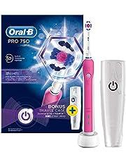 Oral-B Pro 750, Şarj Edilebilir Diş Fırçası Cross Action