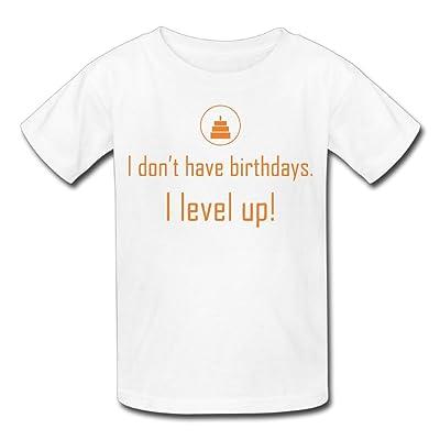 Hailin Tattoo Boys Girls Tshirt I Dont Have A Birthday T Shirts Fashion Couple Tees