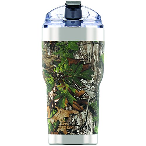 Pelican 18/8 Pro Grade Stainless Steel, 22oz, Food & Drink Storage, Camo Finish, os, Realtree Xtra Green
