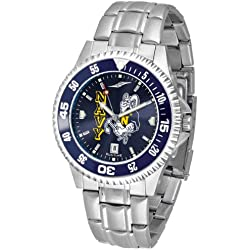 NCAA United States Naval Academy Mens Stainless Watch COMPM-AC-NAA
