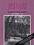 Destinos Workbook, Van Patten, Bill and Marks, Martha A., 0070672598