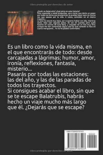 Amazon.com: BALATRUBIS (Spanish Edition) (9788469787403): Montse Jiménez Escobar: Books