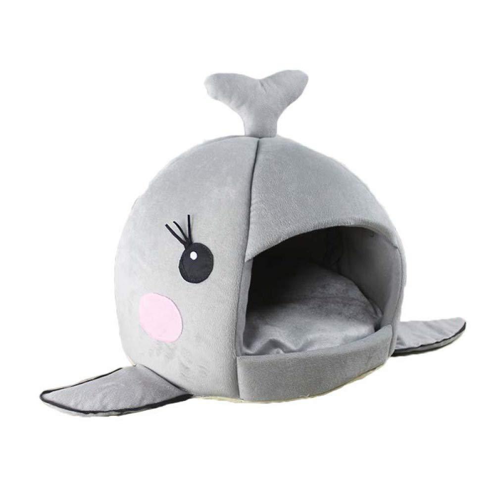 YWJHY Mascota Nido Tiburón Forma Perro Gato Otoño Invierno Regalo Moda Caliente
