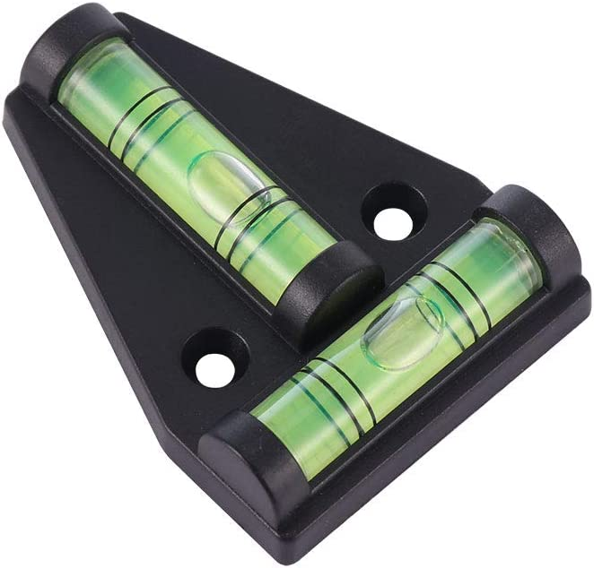 Polyvalent pour Meubles Vvciic 2 Piece Niveau /à Bulle de Niveau T /équipement Photographique niveleur /à Bulle /à 2 Voies tr/épieds Petite Mesure