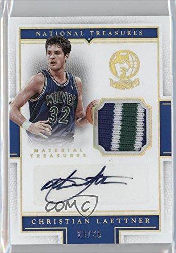 christian-laettner-23-25-basketball-card-2015-16-panini-national-treasures-material-treasures-signat