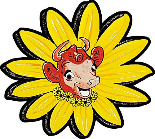 American Collectibles Elsie The Cow of Borden Dairy Plasma Cut Metal Sign