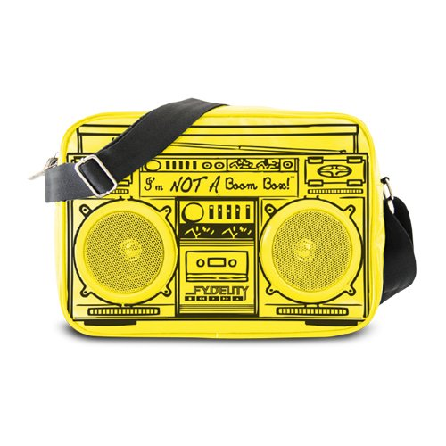 Price comparison product image Fydelity Le Boom Box G-Force Shoulder Bag, Yellow