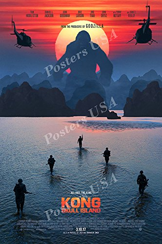 Posters USA Kong Skull Island Movie Poster GLOSSY FINISH - MOV774 (24