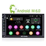 JOYING 7 inch Android 6.0 Marshmallow 2GB RAM Quad Core Car Radio Stereo Head Unit GPS Nav for Nissan Universal Vehicle Support Bluetooth MirrorLink OBD2 WiFi Rear View Backup Camera