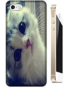 Beautiful cute cat looking at you cell phone cases for Apple Accessories iPhone 6 (4.5)