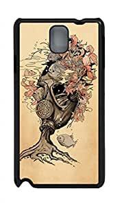 Fit Case with Abstract Painting Bombs Away Printed Hard Back Case Cover for Samsung Galaxy Note 3 N9000