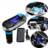 Best AGPtek Bluetooth Car Audio Receivers - Multipoint FM Transmitter, AGPtek Bluetooth MP3 Player Hands-free Review