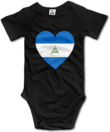 TO-JP Irish American Flag Shamrock Baby Short-Sleeve Onesies Bodysuit Baby Outfits