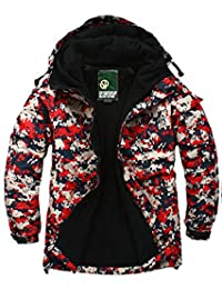 SOUTH PLAY Mens Premium Ski SnowBoard Wear Jacket Jumper ACU RED