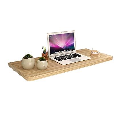 LXLA  Folding Wall Desk Wall Mounted Drop Leaf Table, Computer Desk,