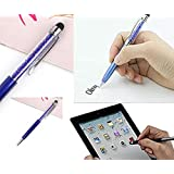 Freshdcart Universal Touch Stylus Stick Pen For Touch-Screen Android Mobile And Tablet (Sky-Blue 1Qty)