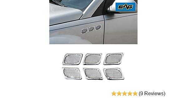 MASO Universal Car Bumper Protector Car Body Guard Protector Rubber Trim Anti-rub Bar Cover Strip 4Pcs Silver