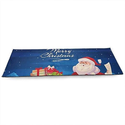 LinJxLee Santa Delivers Presents Yoga Mat Eco Friendly Non ...