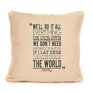 If I Lay Here Snow Patrol letras de canciones cojín para tu sofá perfecto regalo para él/ella Design2