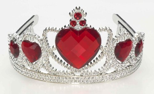 Forum Novelties Ruby Heart Tiara