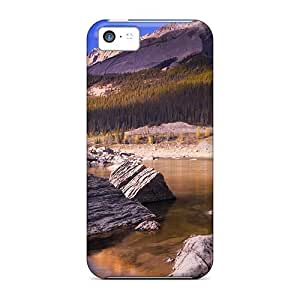 Premium Lake Nature Heavy-duty Protection Case For Iphone 5c