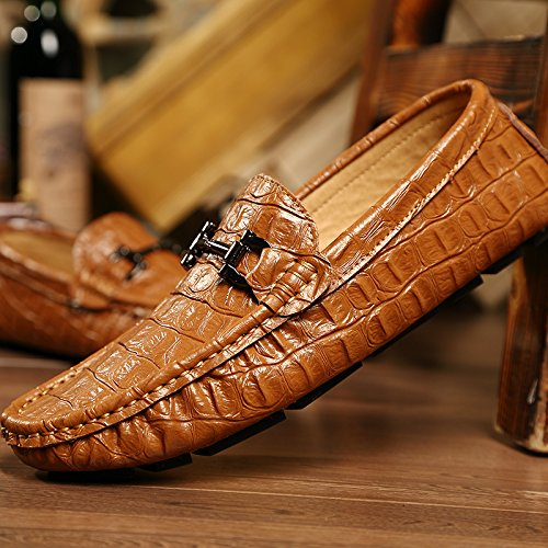 vettura della scarpe alla Casual di guida alta Scarpe L'uomo qualit Skid qTtwa1