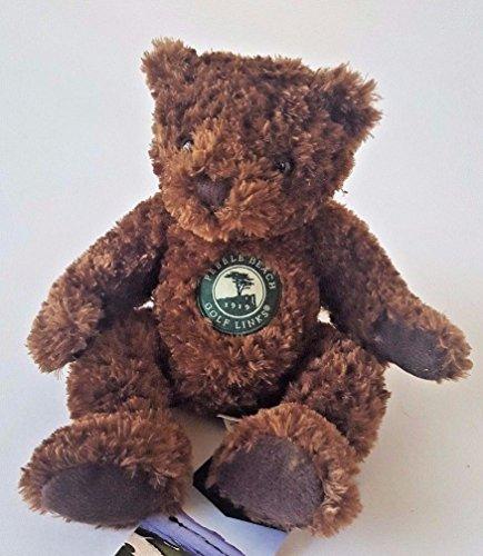 HERRINGTON TEDDY BEARS EXCLUSIVE PEBBLE BEACH GOLF LINKS BEAN BROWN TEDDY BEAR