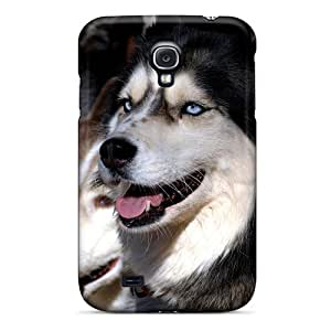 For Galaxy S4 Tpu Phone Case Cover(husky Dogs)