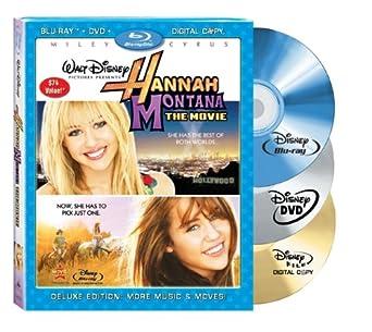 Amazoncom Hannah Montana The Movie Three Disc Blu Raydvd Combo