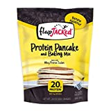FlapJacked Protein Pancake & Baking Mix, Banana Hazelnut, 24oz