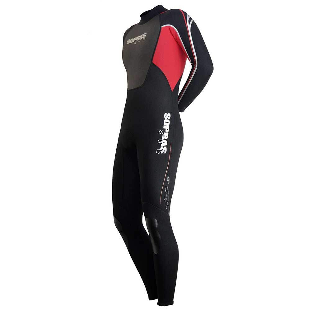 Sopras Sub ''ISIDA Men's 3MM Full Wetsuit Scuba Diving Surfing Freediving Spearfishing Underwater Suit Snorkiling Free Diving Swim Swimming Wet Suit Jumpsuit, 3-S