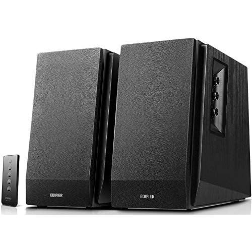 chollos oferta descuentos barato Edifier R1700BT Altavoces de Estante Bluetooth Monitores de Estudio de Campo Cercano Activos Altavoces 2 0 Instalación de gabinete de madera 66w RMS Negro