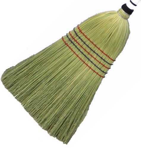 Amazon.com: Authentic Hand Made All Broomcorn Broom (Large 18.5 ...