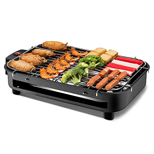 (Smoke-Less Infrared Grill, Indoor Grill, Heating Electric Tabletop Grill, Non-Stick Easy to Clean BBQ Grill, for Party/Home Multi-function automatic YZPDSKJ)