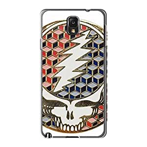 AnnaDubois Samsung Galaxy Note3 Shock-Absorbing Hard Phone Cases Provide Private Custom Attractive Grateful Dead Skin [NJP2653FweG]