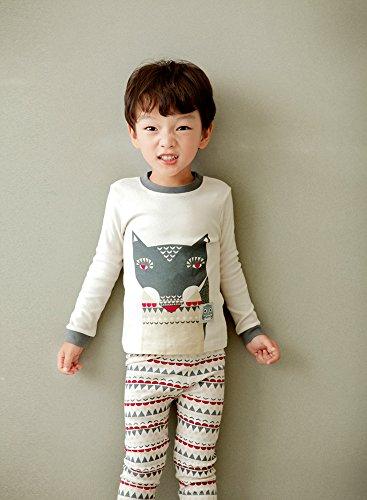 Mimir By Vaenait 12M-7T 100% Cotton Sleepwear Pajama Set Scandi Fox S