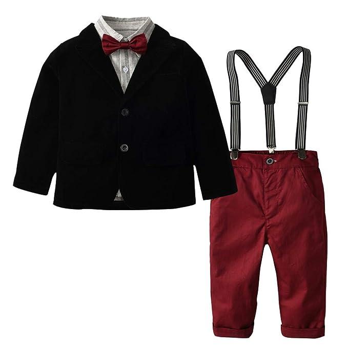 Xmiral Niñas Bebes 5Pcs Conjuntos de Traje con Camisa ...