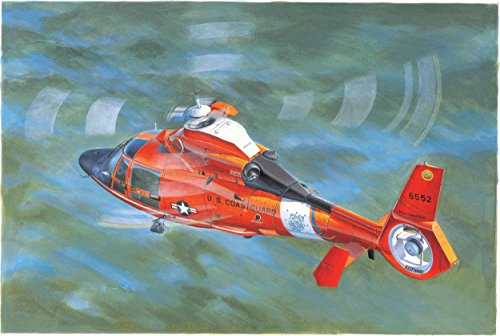 Trumpeter US Coast Guard HH-65C Dolphin HelicopterModel Kit