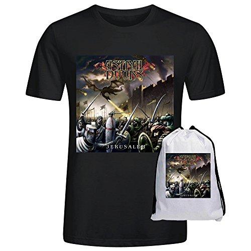 Astral Doors Jerusalem Cool Mens T-Shirt Black
