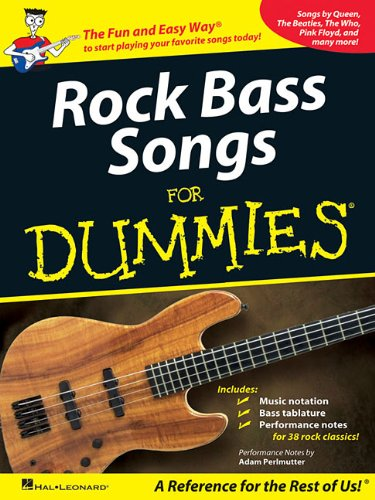 Rock Bass Songs for Dummies (Rock Songs For Dummies)