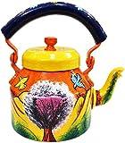 Craftkriti Decorative Modern Designed made In India Tea Kettle Figurine Aluminium DECORATIVE TEA KETTLE Home Décor by